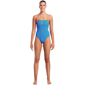 Funkita Strapped In One Piece Badpak Dames blauw